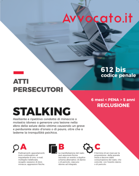 Avvocato.it - Delitto di stalking